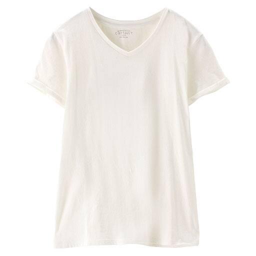 【SALE】 【レディース】 VネックTシャツの通販