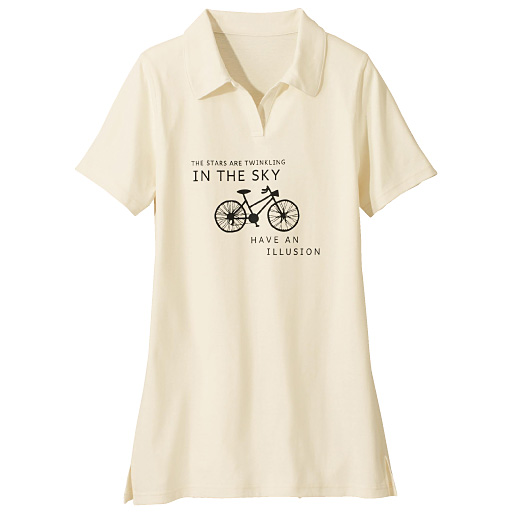 【SALE】 【レディース大きいサイズ】 衿付きチュニックTシャツの通販