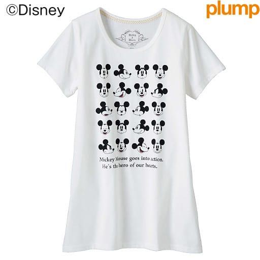【SALE】 【レディース大きいサイズ】 ロング丈Tシャツ(ディズニー)の通販