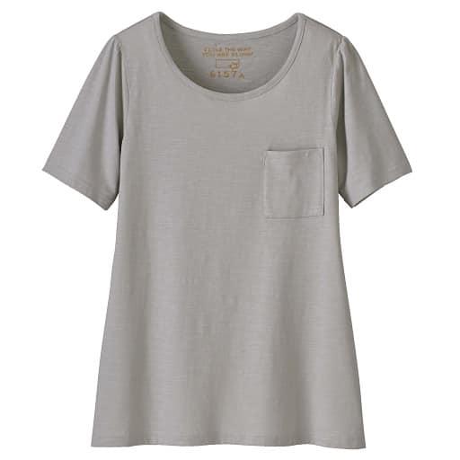 【SALE】 【レディース大きいサイズ】 コットンモダールクルーネックTシャツの通販