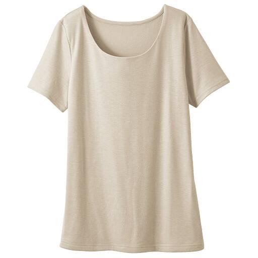 【SALE】 【レディース】 フロント2重半袖Tシャツの通販