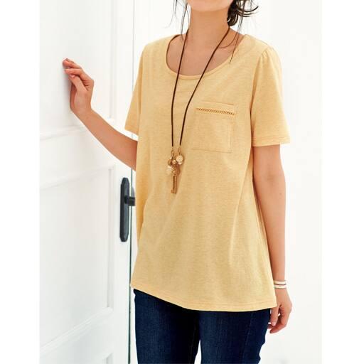【レディース大きいサイズ】 Tシャツ(ボタニカルダイ)の通販