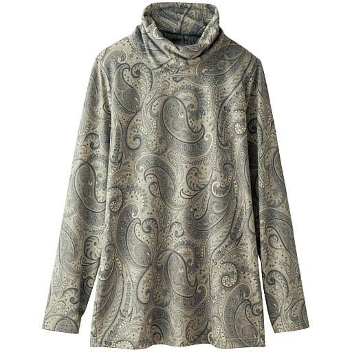 【SALE】 【レディース】 オフタートルプリントTシャツの通販