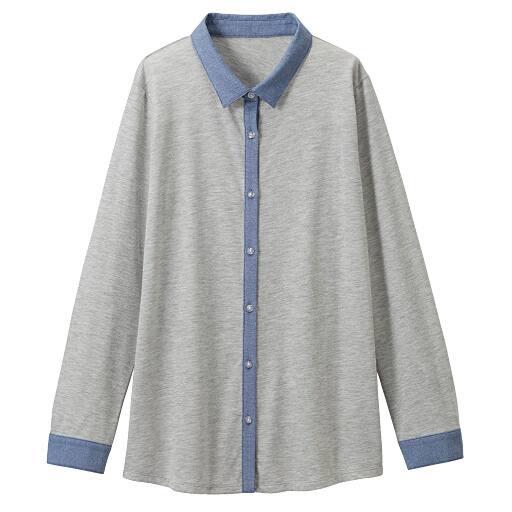 【SALE】 【レディース】 シャツ衿カットソーの通販