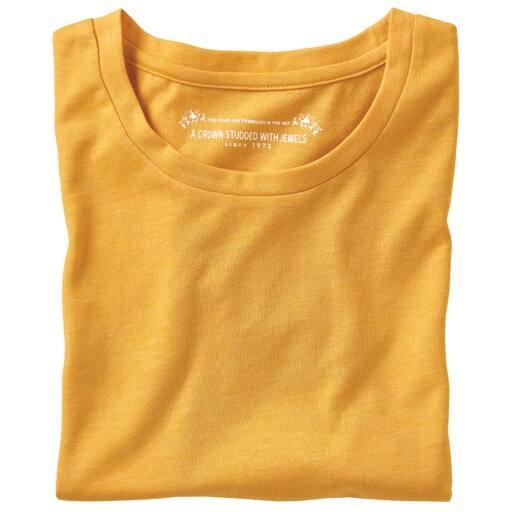 【レディース】 シンプルクルーネックTシャツ(長袖)の通販