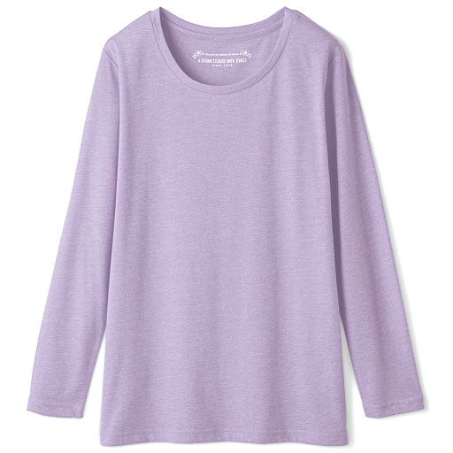 【SALE】 【レディース】 シンプルクルーネックTシャツ(長袖)の通販