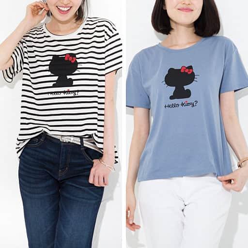 【レディース】 ハローキティゆるTシャツ