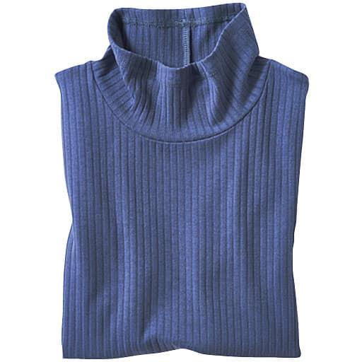 【SALE】 【レディース】 ワイドリブハイネック5分袖Tシャツの通販