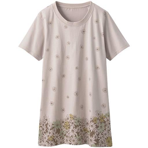 【レディース】 プリントロングTシャツの通販