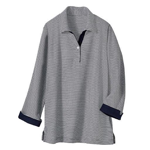 【レディース】 吸汗速乾・抗菌防臭・UVカットの多機能ポロシャツ(7分袖)の通販