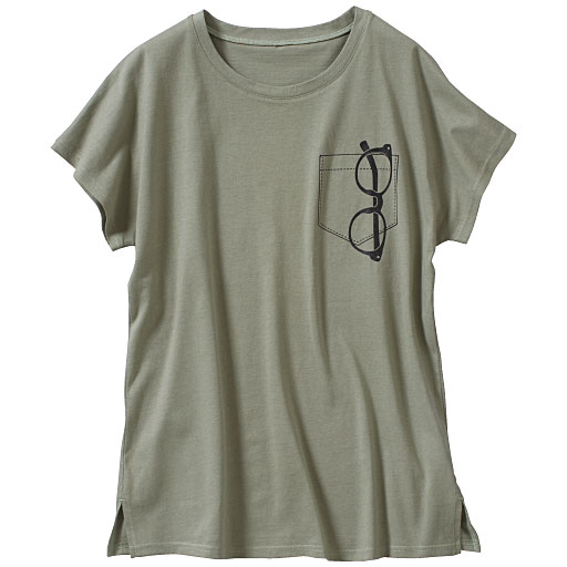 【SALE】 【レディース大きいサイズ】 半袖プリントTシャツの通販