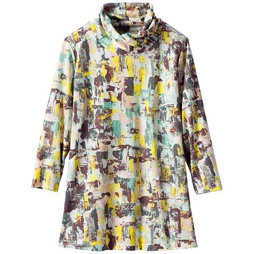【SALE】 【レディース】 オフタートル7分袖Tシャツの通販