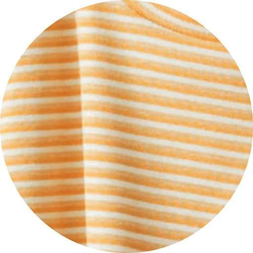 【SALE】 【レディース】 ボーダーTシャツ(5分袖)(UVケア)の通販