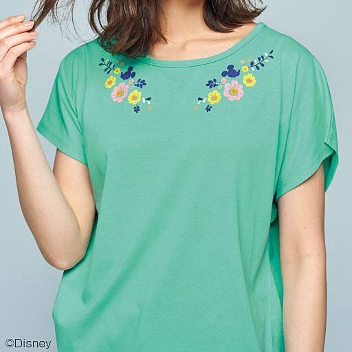 【SALE】 【レディース】 ゆるシルエットプリントTシャツ(ディズニー)の通販