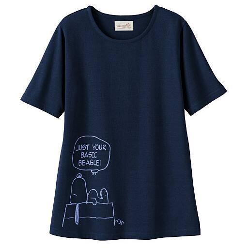 【SALE】 【レディース大きいサイズ】 Tシャツ(スヌーピー)の通販
