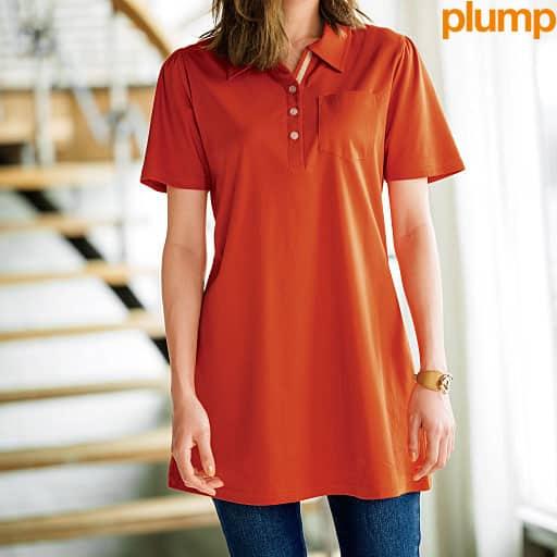 【SALE】 【レディース大きいサイズ】 UVカットロングポロシャツの通販