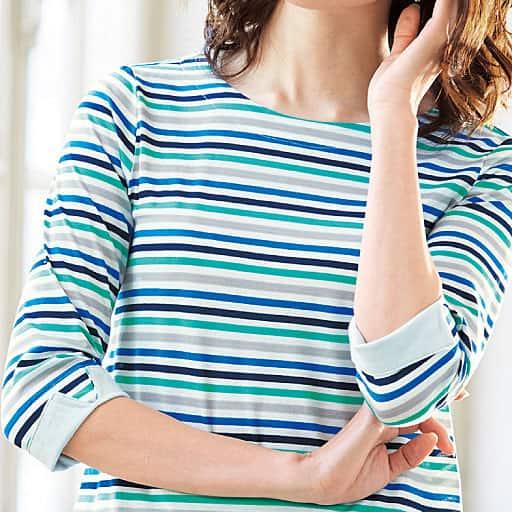 【SALE】 【レディース】 ボーダーTシャツの通販