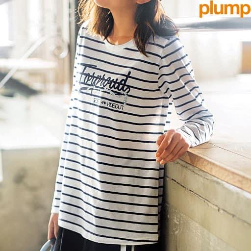 【SALE】 【レディース大きいサイズ】 ロゴTシャツの通販