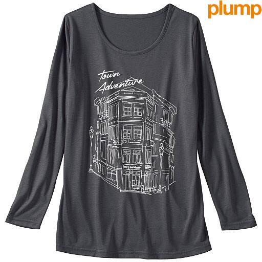 【SALE】 【レディース大きいサイズ】 グラフィックTシャツの通販