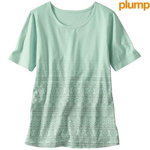 【SALE】 【レディース大きいサイズ】 プリントTシャツの通販