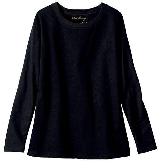 【レディース大きいサイズ】 シンプルTシャツ(長袖・綿100%・L-10L)の通販