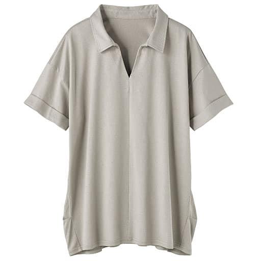 【SALE】 【レディース】 大人きれいな抜き衿ロングプルオーバーの通販