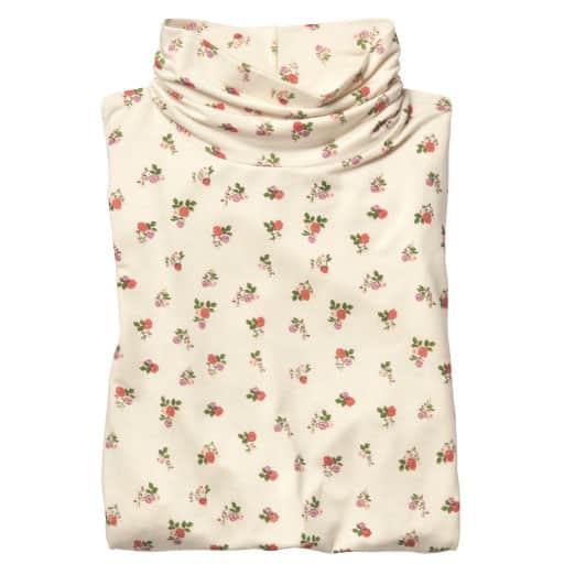 【レディース】 スマートヒートルーズネックTシャツ(S-5L・静電気防止・吸湿発熱・吸汗速乾)