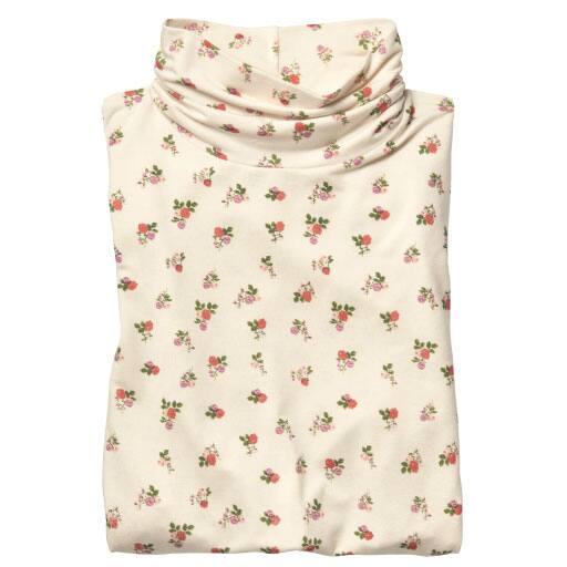 【レディース】 スマートヒートルーズネックロングTシャツの通販