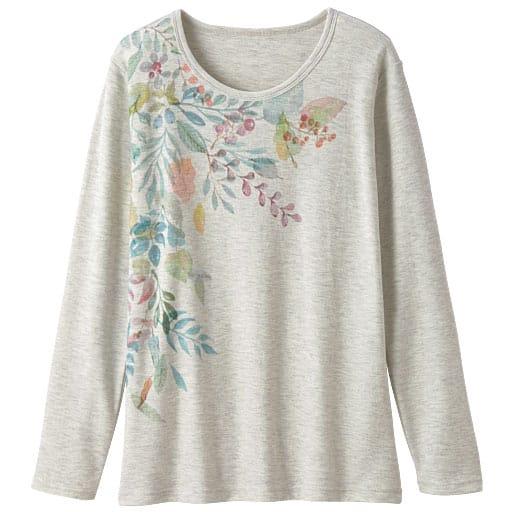 【レディース】 プリントTシャツ(長袖)の通販