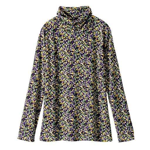 【レディース】 ルーズネックプリントTシャツの通販