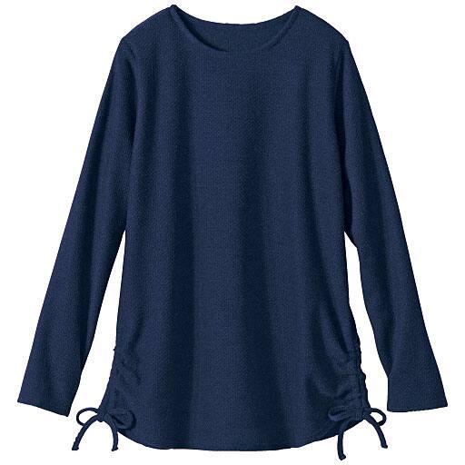【SALE】 【レディース】 裾シャーリングプルオーバー(洗濯機OK)の通販