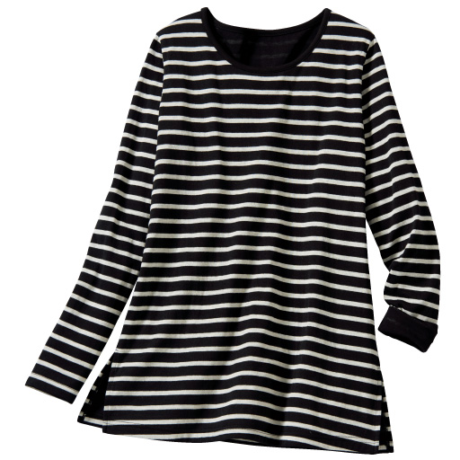 【SALE】 【レディース大きいサイズ】 接結天竺クルーネックTシャツの通販