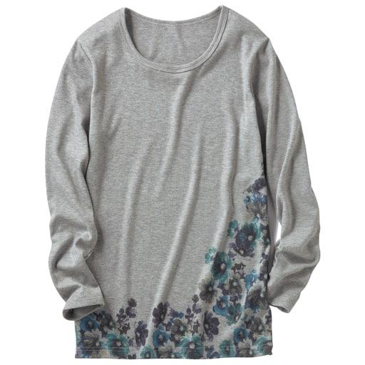 【レディース】 クルーネックプリントTシャツ(S-5L)の通販
