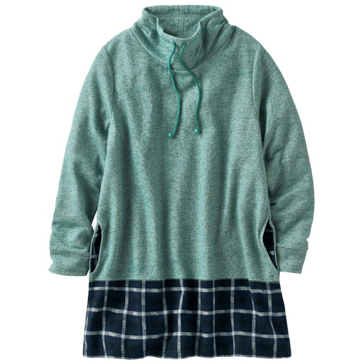 【レディース】 裾切り替えチュニック
