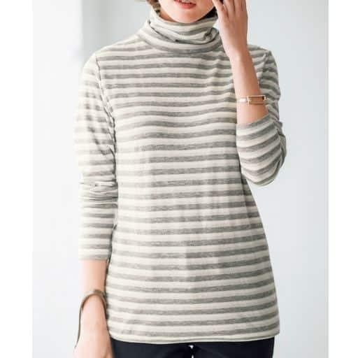 【レディース】 ルーズネックロングTシャツの通販