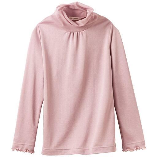 【レディース】 チュールネックTシャツ(日本製)の通販