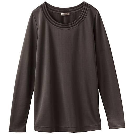 【レディース】 ピコ使いTシャツ(日本製)の通販