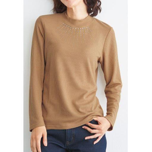 【レディース】 ラインストーン使いTシャツの通販