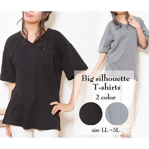 【レディース】 ビッグシルエットなので着心地らくちんなTシャツ – セシール