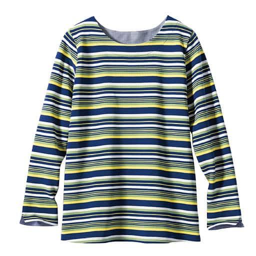 【レディース】 リップルボーダーTシャツの通販