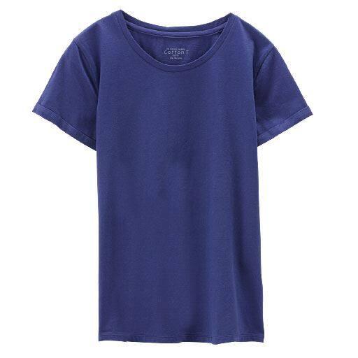 【レディース】 クルーネックTシャツ(綿100%)の通販
