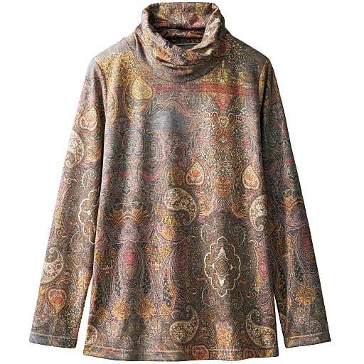 【レディース】 オフタートルプリントTシャツの通販