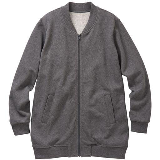 【レディース大きいサイズ】 ジップアップジャケット - セシール