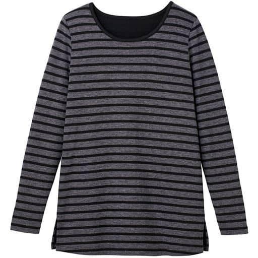 【レディース大きいサイズ】 接結(2枚仕立)天竺クルーネックTシャツ(L-10L) - セシール