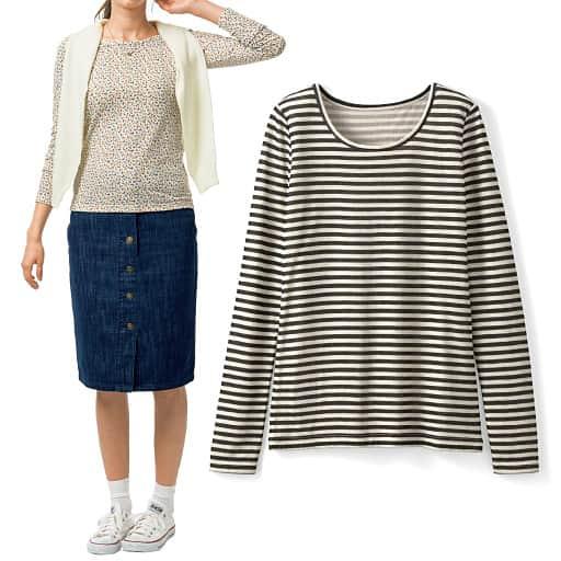 【SALE】 【レディース】 接結クルーネックTシャツの通販