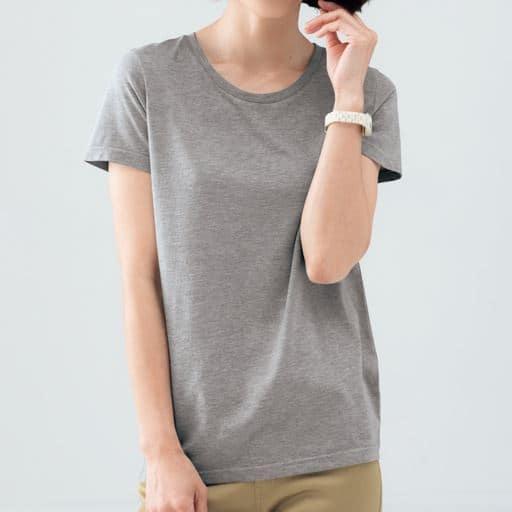 【レディース】 シンプルクルーネックTシャツの通販