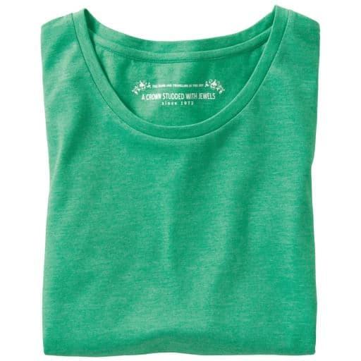 【レディース】 シンプルTシャツ(七分袖)の通販