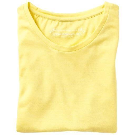 【SALE】 【レディース】 シンプルクルーネックTシャツ(七分袖)の通販