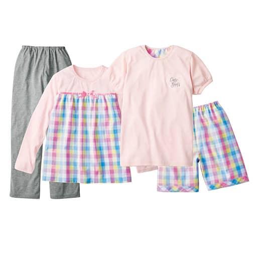 <セシール> 【子供服】 4点セットパジャマ