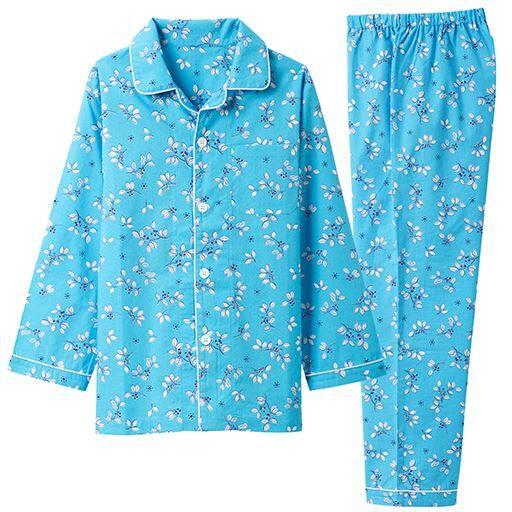 40%OFF【ティーンズ】 長袖シャツパジャマ(男女児用)